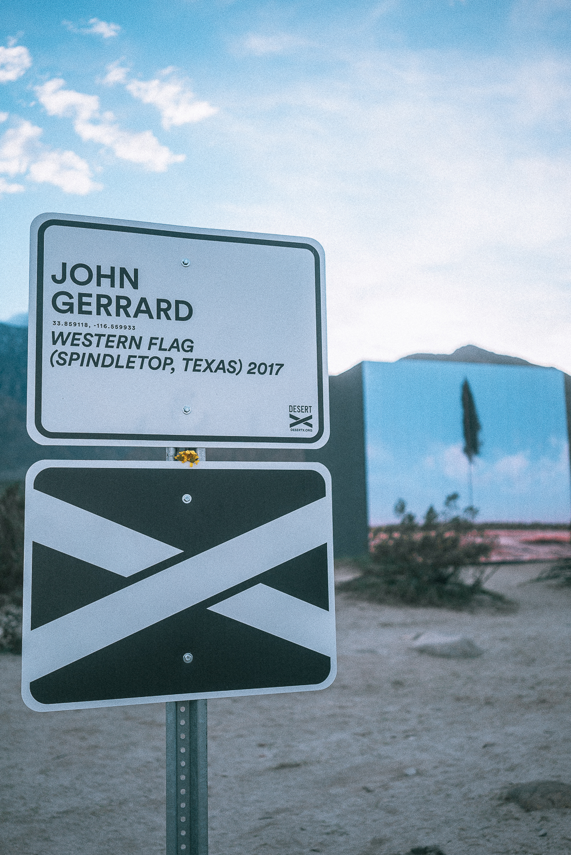 Western Flag - John Gerrard