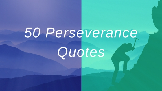 Perseverance Quotes Persistence Quotes