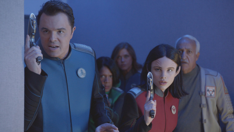 "Miller, Liz Shannon. ""'The Orville' Review: Seth MacFarlane's 'Star Trek' Rip-Off Is Creatively, Morally, and Ethically Bankrupt.""  IndieWire , 8 Sept. 2017, 11:13am, www.indiewire.com/wp-content/uploads/2017/09/orv101_promo_stills_2017-05-10_005_r_hires1.jpg?w=780."