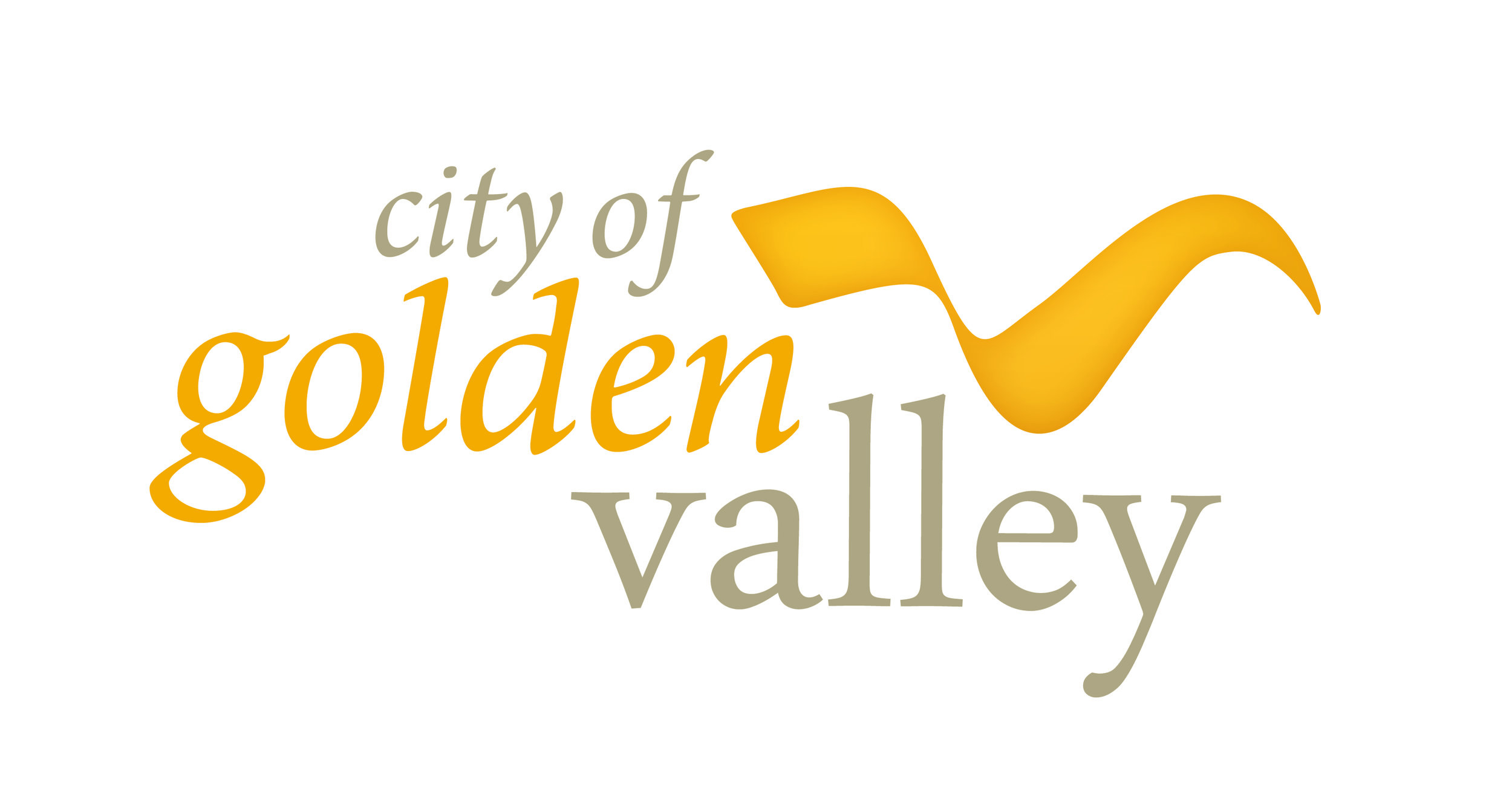 Logo of the City of Golden Valley