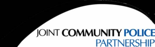 Joint Community Police Partnership Logo