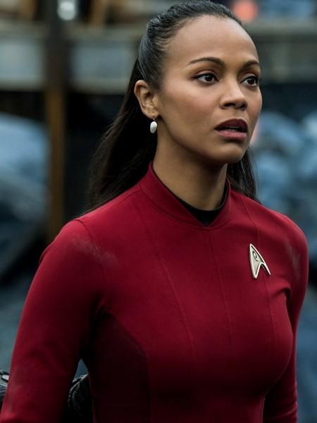 Lieutenant Nyota Uhura on Altamid during  Star Trek Beyond