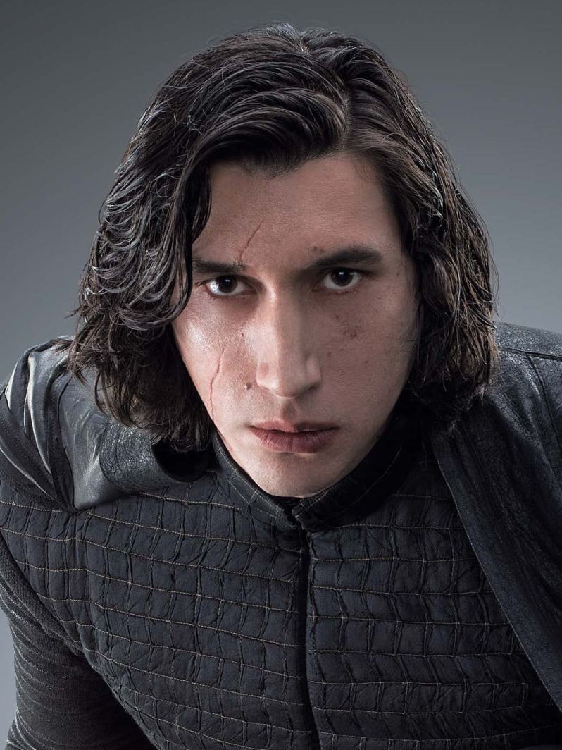 This is a copyrighted promotional image of Kylo Ren/Ben Solo. It is believed that the copyright holder has granted permission for use under the fair use provision of United States copyright law. Source: Star Wars: The Last Jedi - The Official Collector's Edition via Wookieepedia
