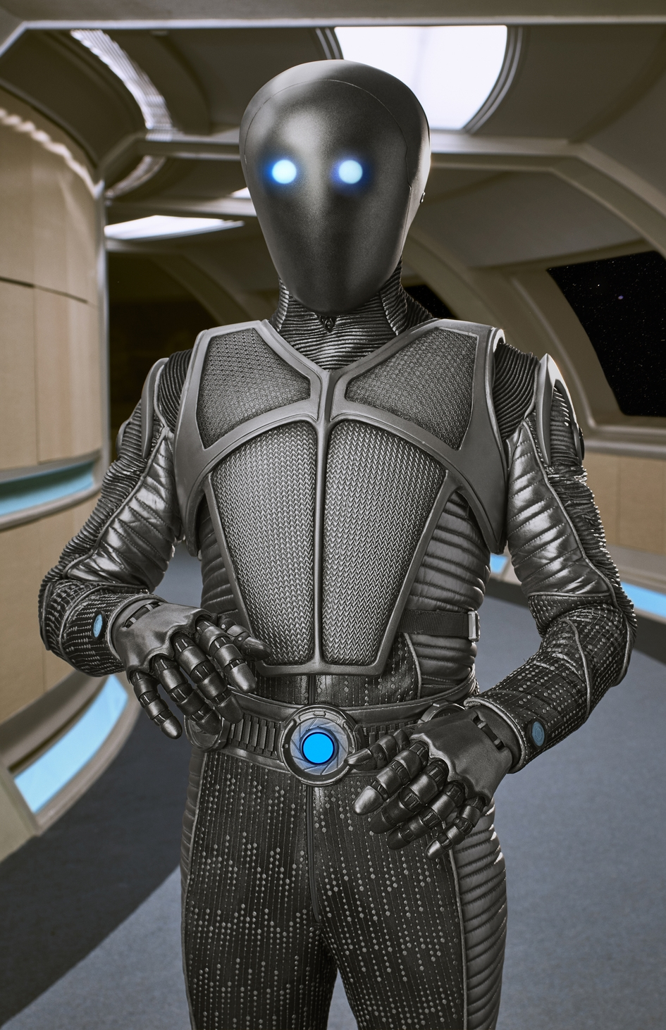 Isaac, the Kaylon representative to the Planetary Union  Fair Use: this image is copyrighted, but used here under Fair Use guidelines. The image is owned by Fuzzy Door Productions and/or 20th Century Fox Television.