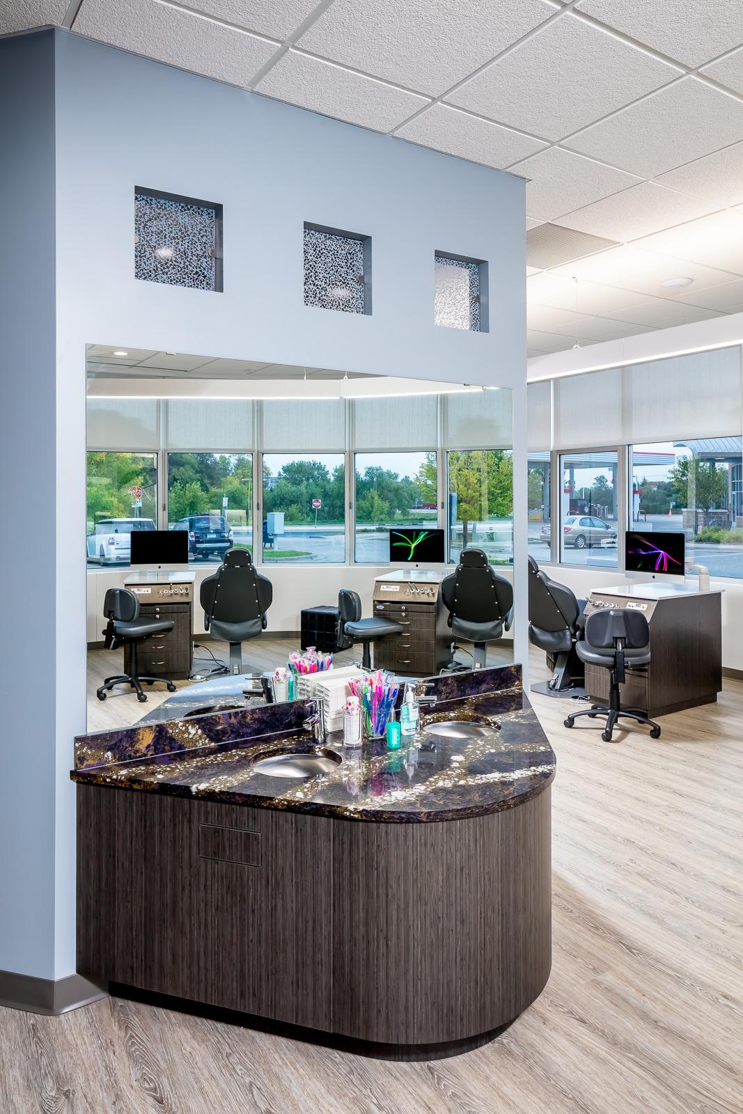 Michael King Orthodontics - Toothbrush Station