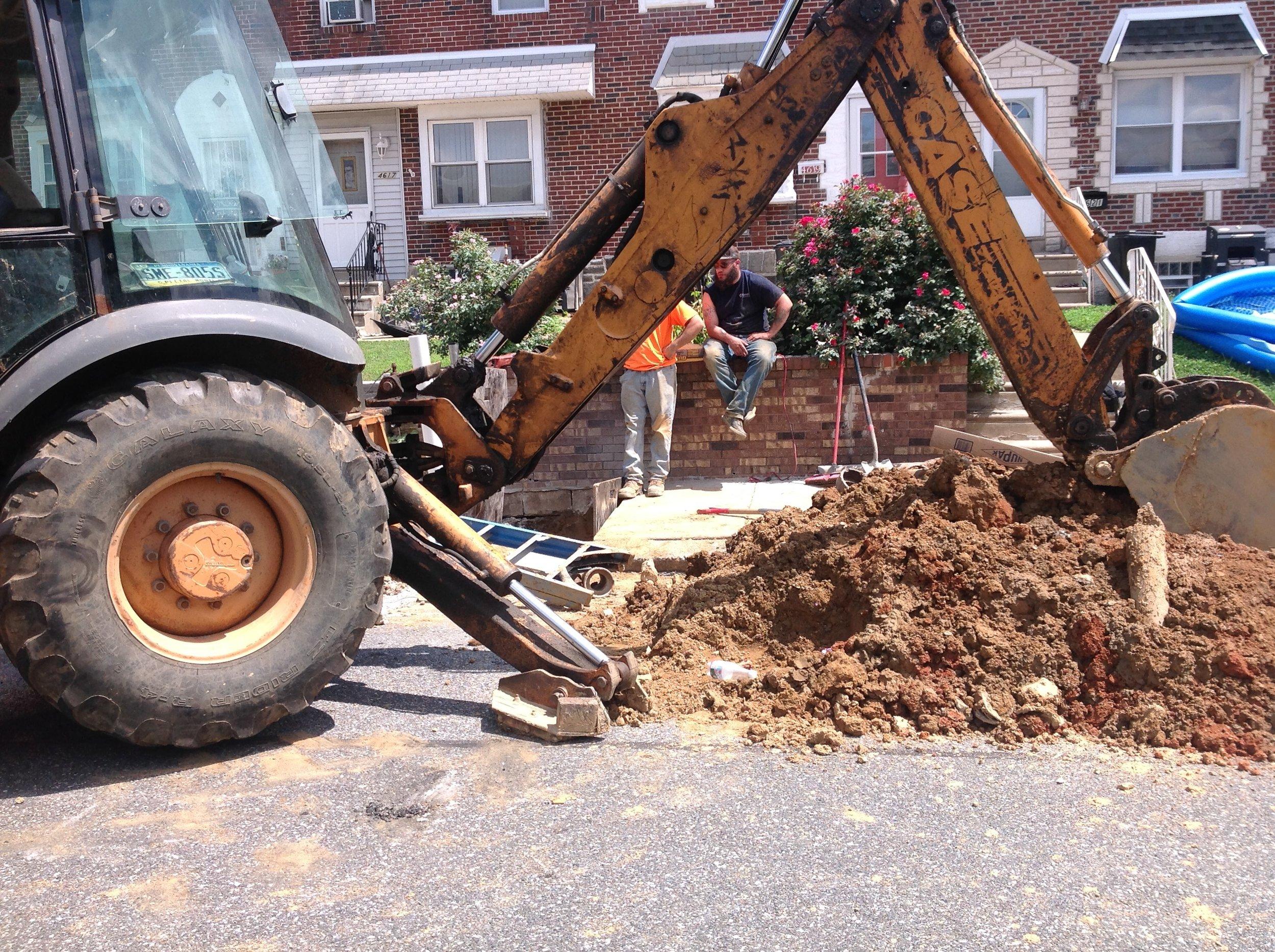 Street Excavation