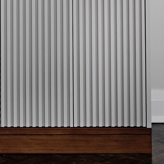 Groovy  #sarabedermandesign #groove #grey #wood #furniture #furnituredesign #beauty #details #interiordesign #custom #bespoke #design #torontodesigner #decor #create #creative #interiors #designer #homedecor #home #LoveYourHome