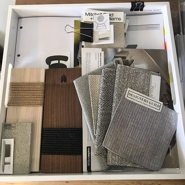Textures and treasures in this stunning furniture presentation  #sarabedermandesign #sneakpeek #custom #handmade #oneofakind #customfurniture #decor #interiors #presentation #furnituredesign #create #creative #neutrals #grey #wood #details #contemporary #texture #beauty #renovation #construction #vision #LoveYourHome