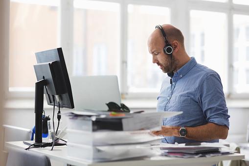 Assessing prospective employees fitness for work.