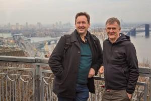 David and Steve in Kiev