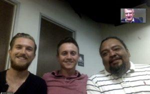 Colin, Garret and Pete