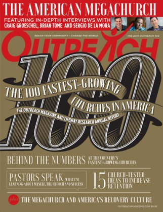 100 Fastest Growing Churches - Outreach Magazine 2015