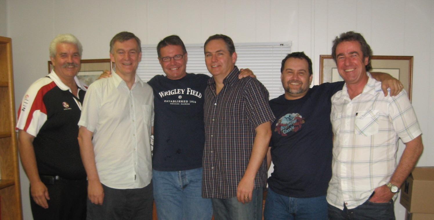 Steve Hall, Steve Addison, Relph Moore, Rick Paynter, Dave Lawton, Lloyd Rankin, 2007 Hawaii
