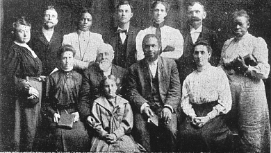 William Seymour (front, 2nd from the right)
