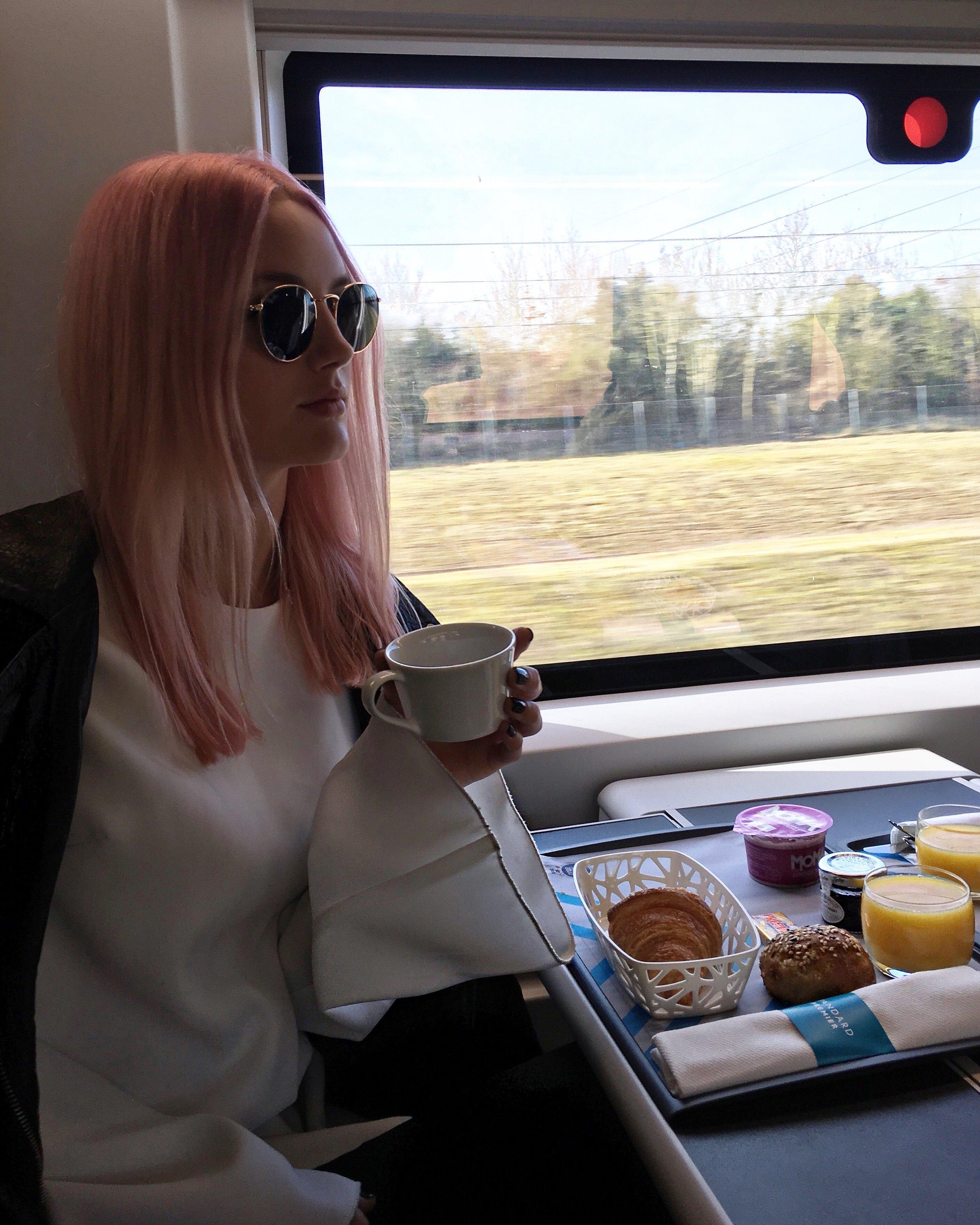 TRAIN TRIP FROM LONDON > PARIS