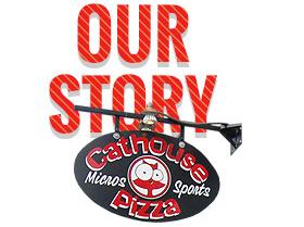 Cathouse Pizza Logo