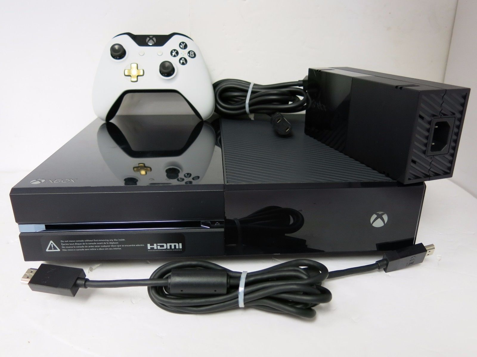 Xbox One console model 1540 1tb Hard Drive    Has power supply and brand new controller,    $235