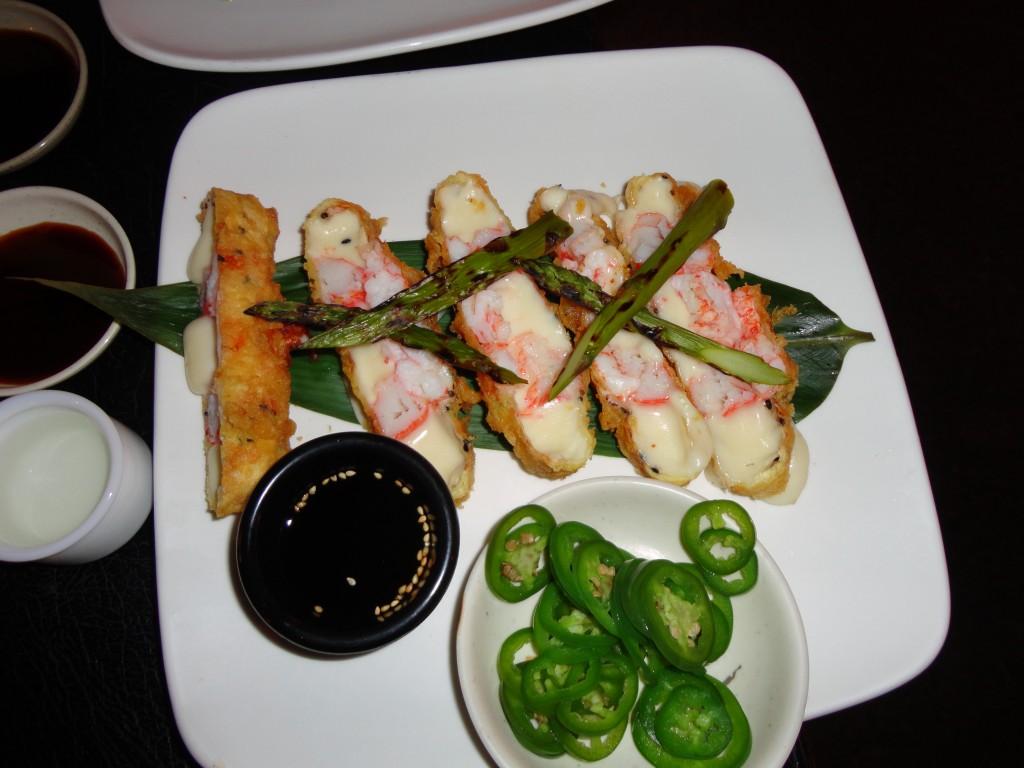 Lobster Mozzarella Tempura…r u kidding me?? These were BOMB!!