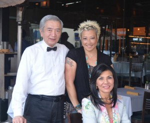 From Left, Tao Chang, Cece Tsou, and Vicky Mense. Photo provided courtesy of Xi'an.