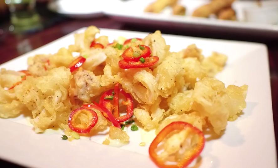 Salt & Pepper Fried Calimari