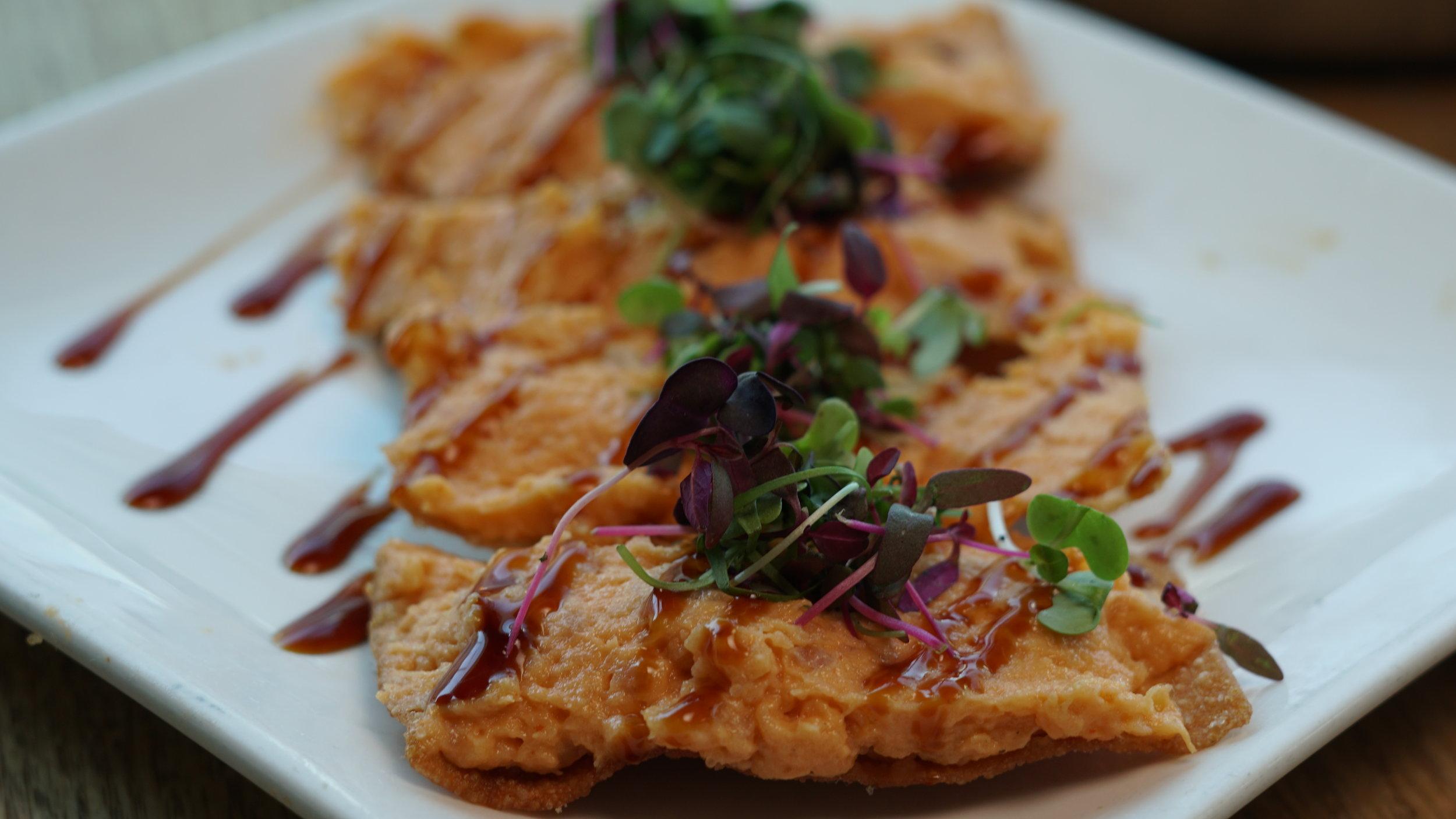 Spicy Albacore Tuna Crisps