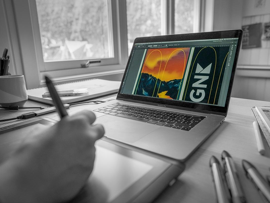 Grafisk Design - Vidde Design har jobber med et bredt spekter av kule kunder fra bransjer som skiprodusenter og hotellkjeder til barnebøker og reiseliv.Se galleri