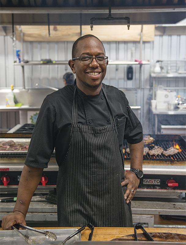 Chef Preston Higgins