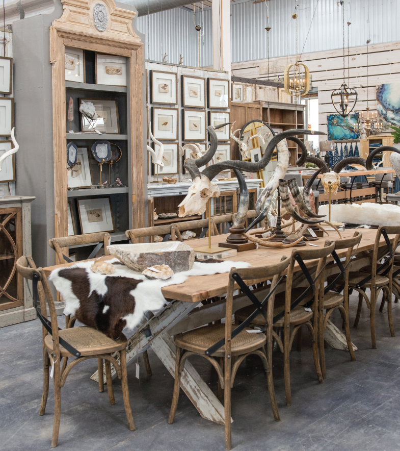Market Hill curates the world's be antiques, furniture, home decor and decorative arts. Photo courtesy of Market Hill