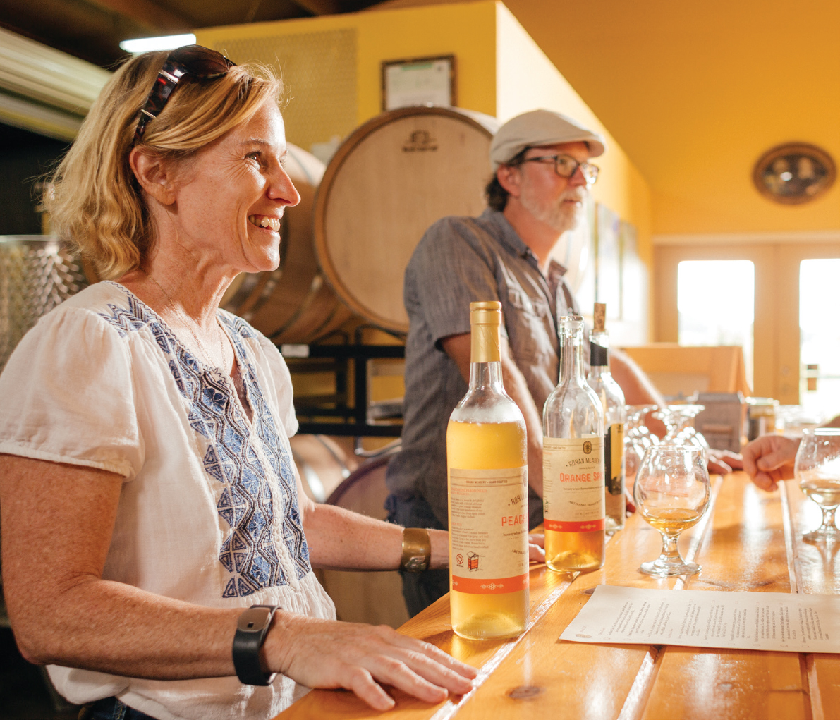 Rohan Meadery is Texas' oldest meadery. Photo by Nathan Lindstrom