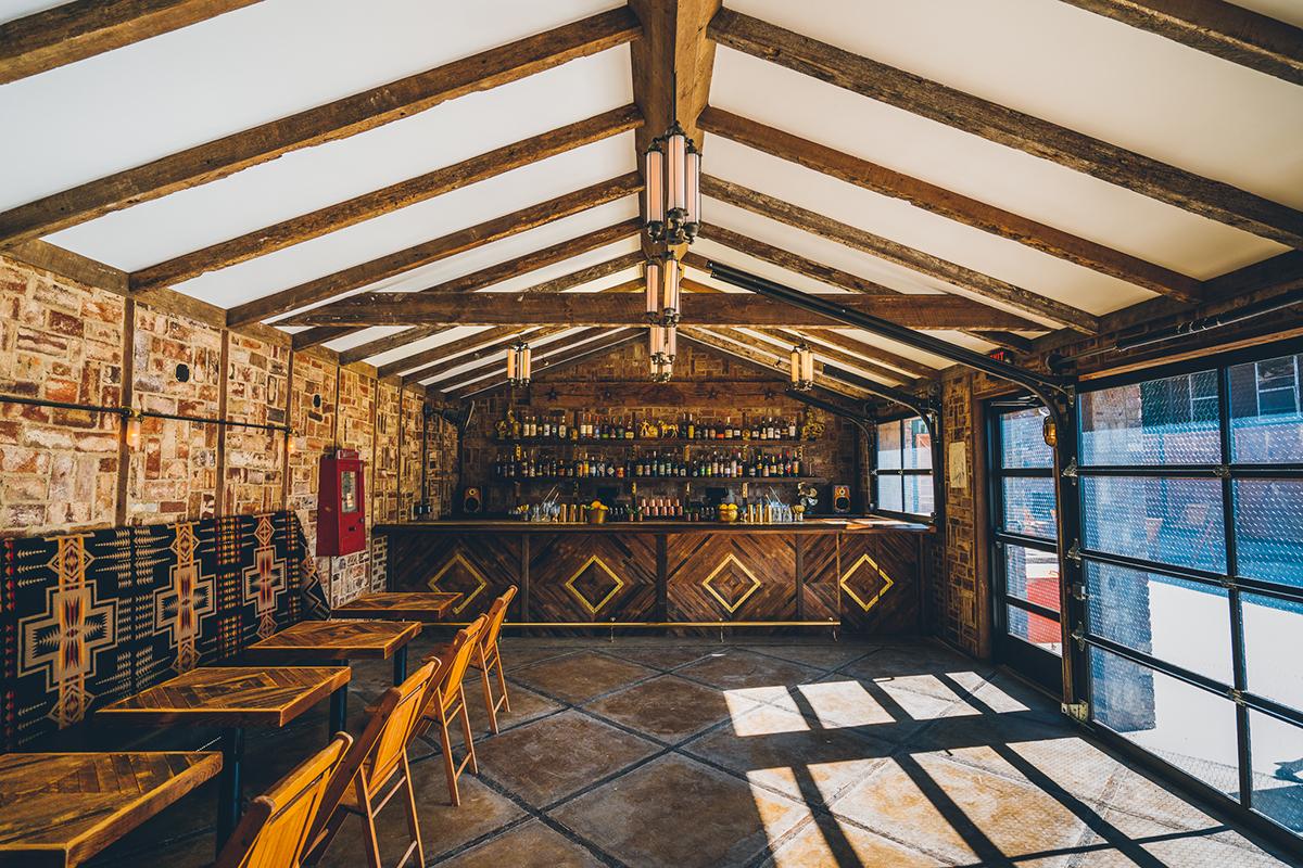 Public House, a restaurant inside Urban Cowboy in Nashville, TN. Photo by Dave Krugman