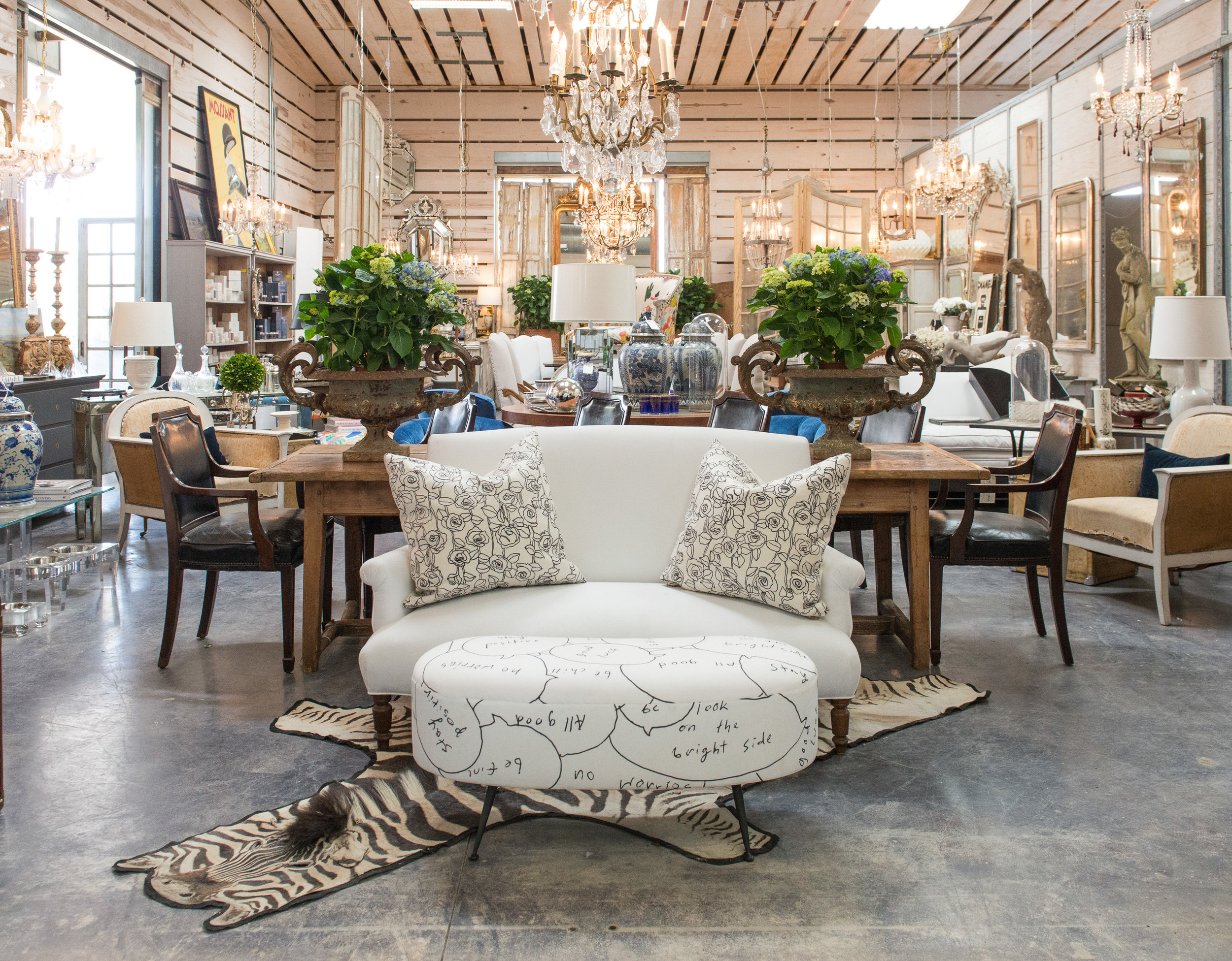 Photo by Natalie Lacy Lange and courtesy of Susan Horne Antiques
