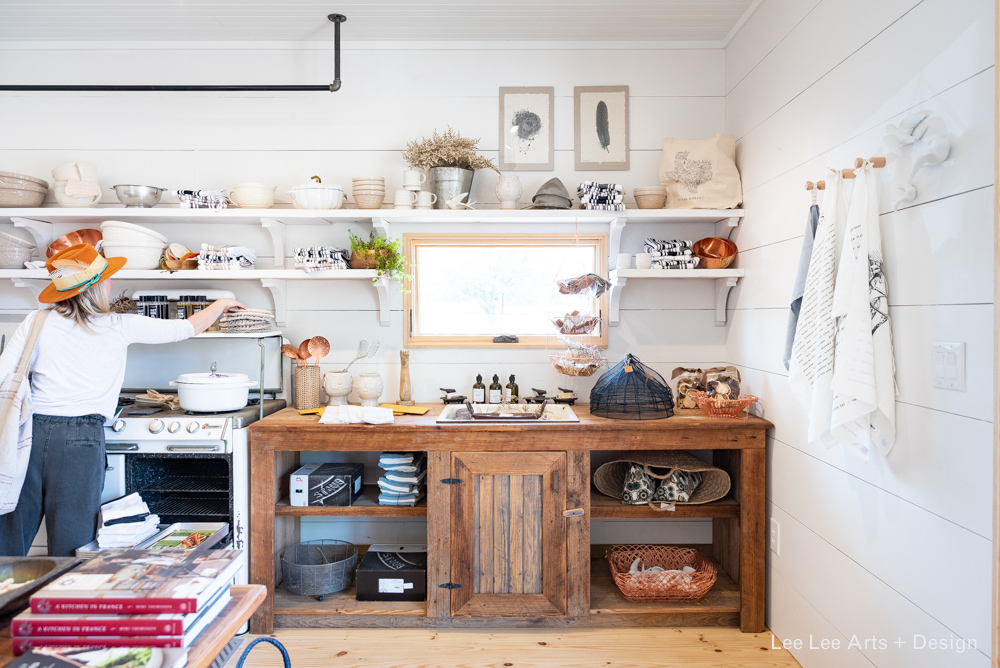 Ettienne Market has a very well-curated selection of kitchen accessories.  Photo by Ashlee Nobel, Lee Lee Arts + Design