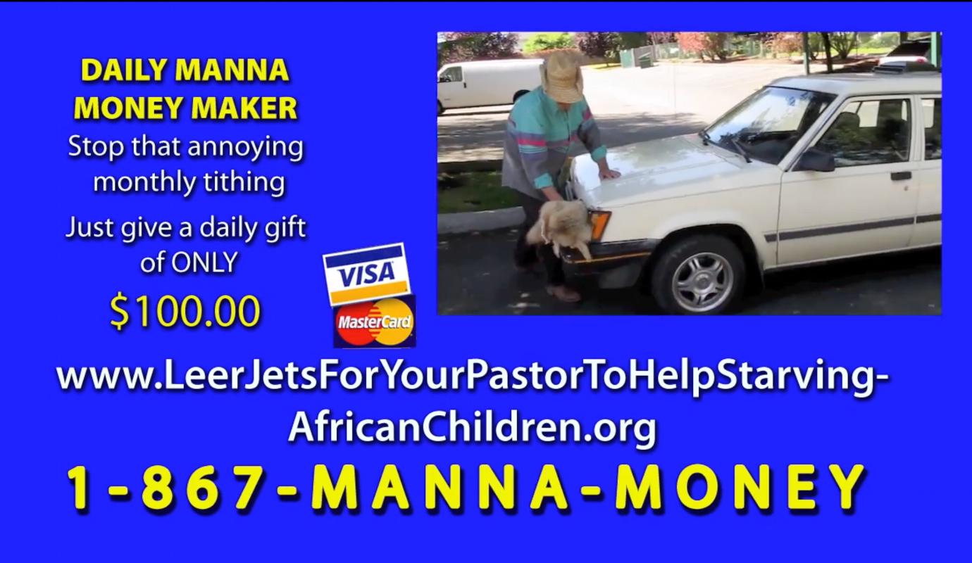 Every Pastor needs a Leer Jet...