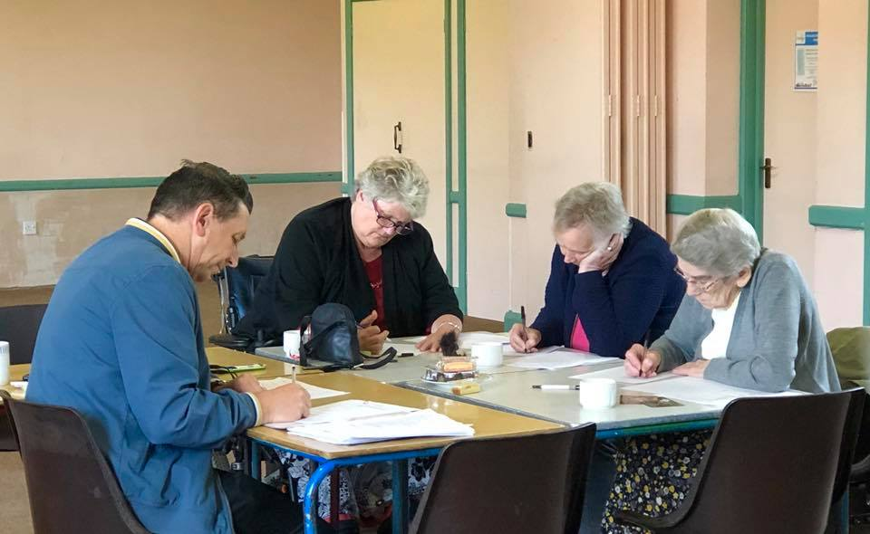 Residents of Attleborough creating their own poetry