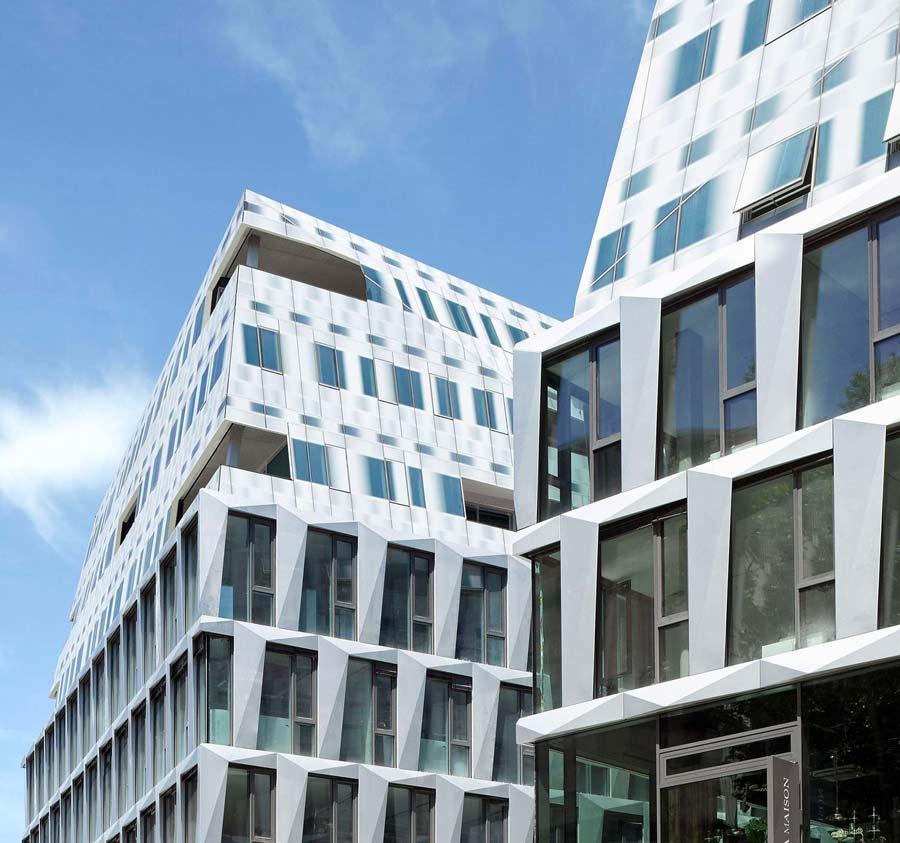 Dorotheen Quartier – die Dachlandschaft als fünfte Fassade