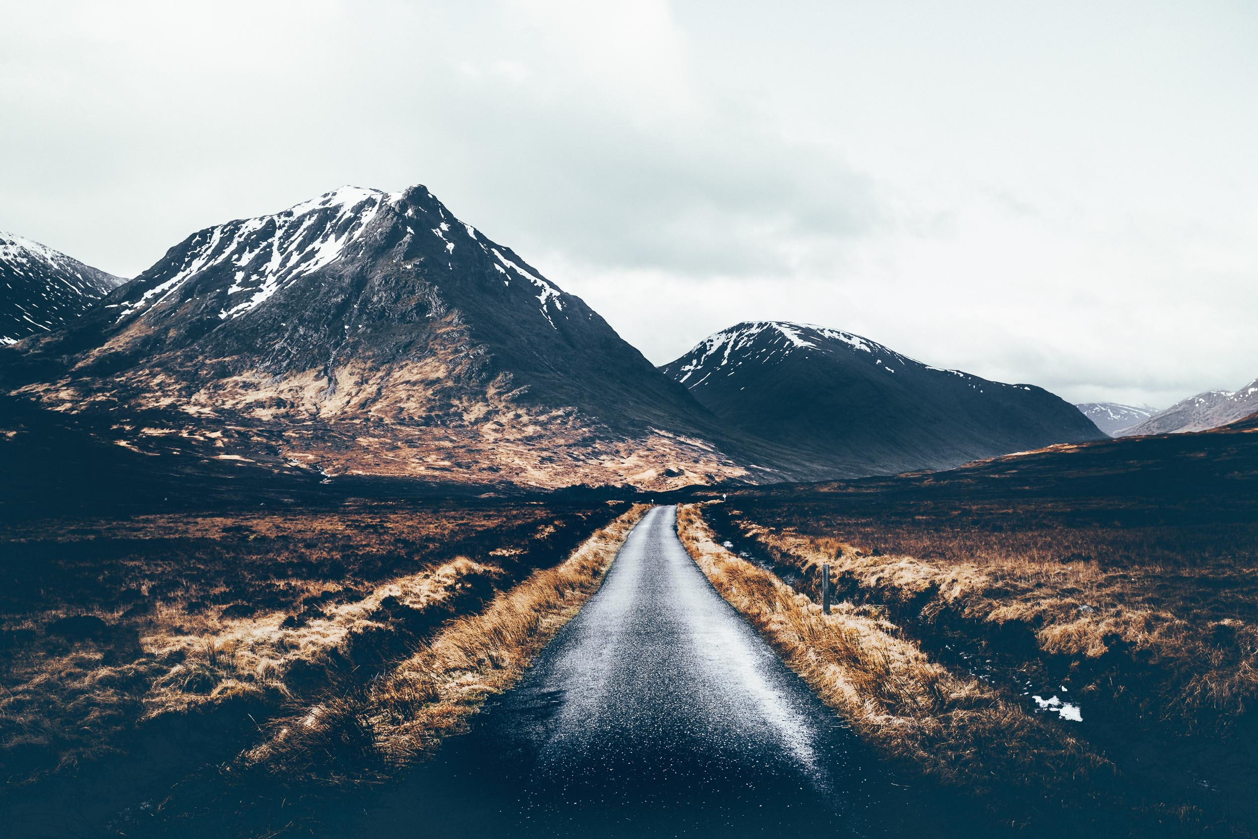 The Road into Glen Etive