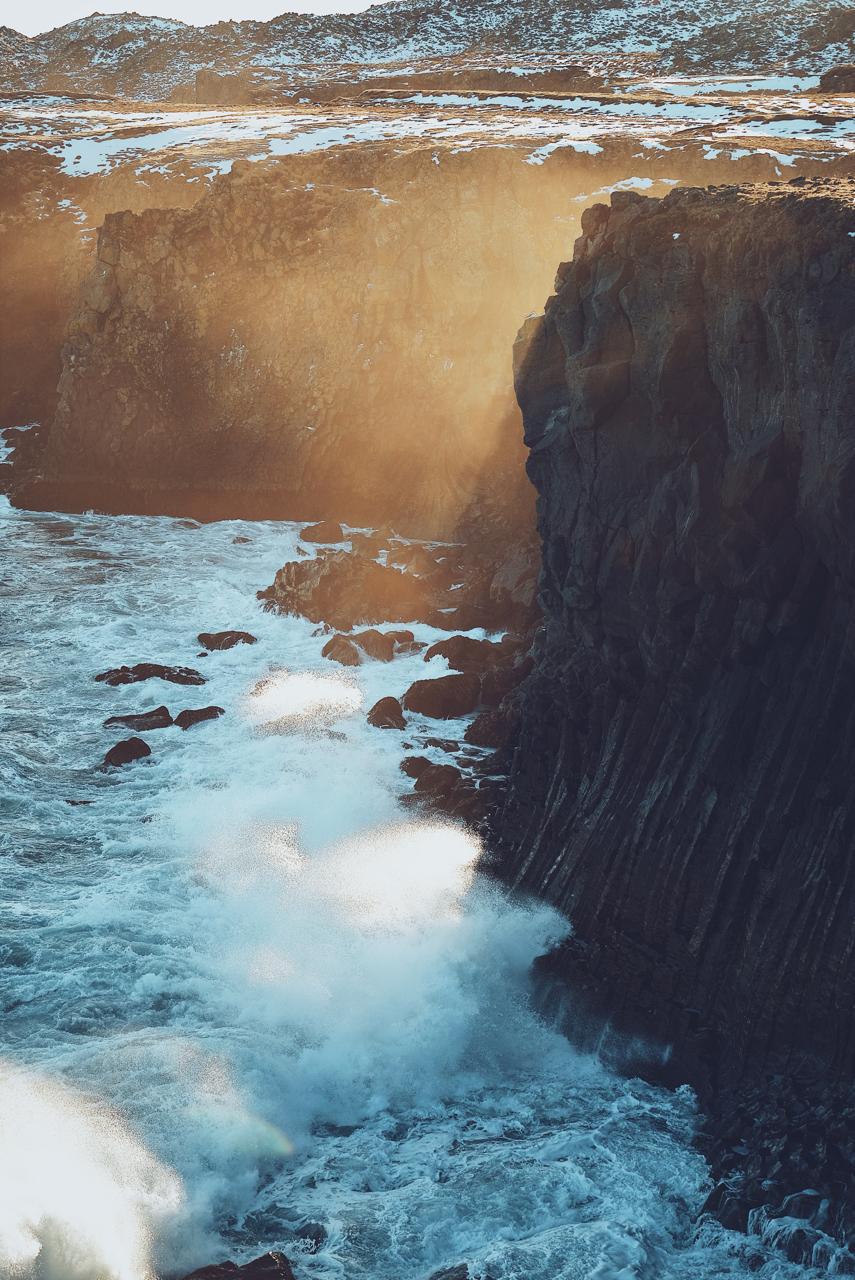 Cliffs Near Gatklettur