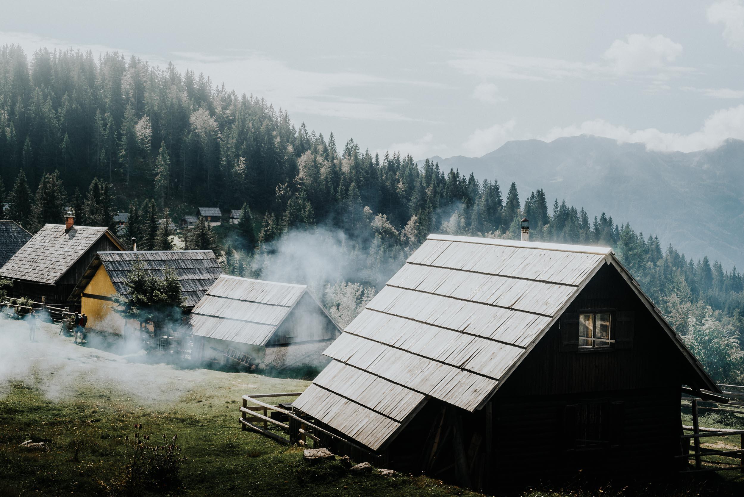 Drifting Smoke Across the Planina