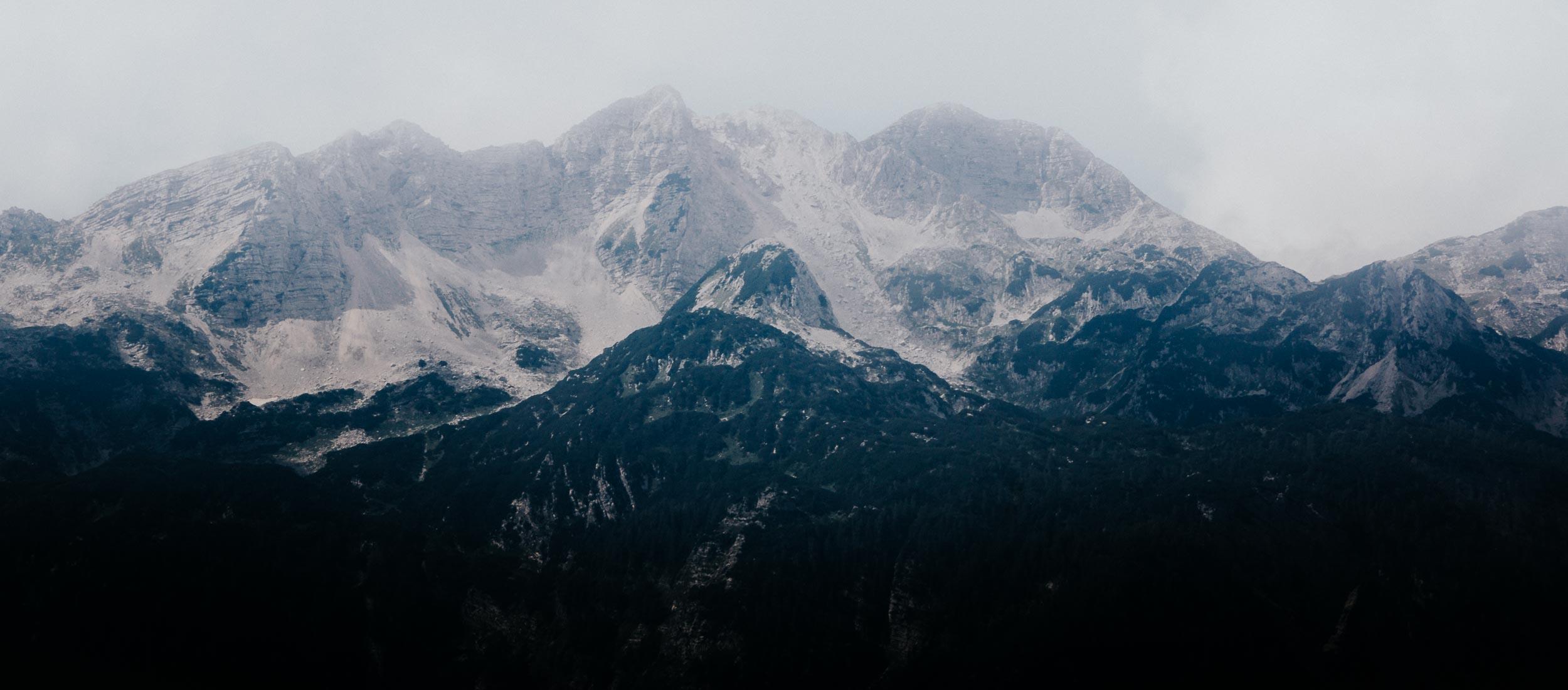 The Alpine Backdrop