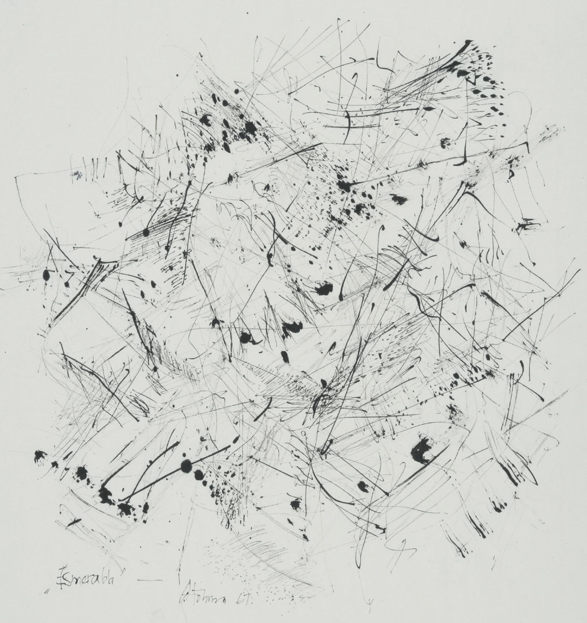 Gerhard Hoehme - Geordnetes Chaos
