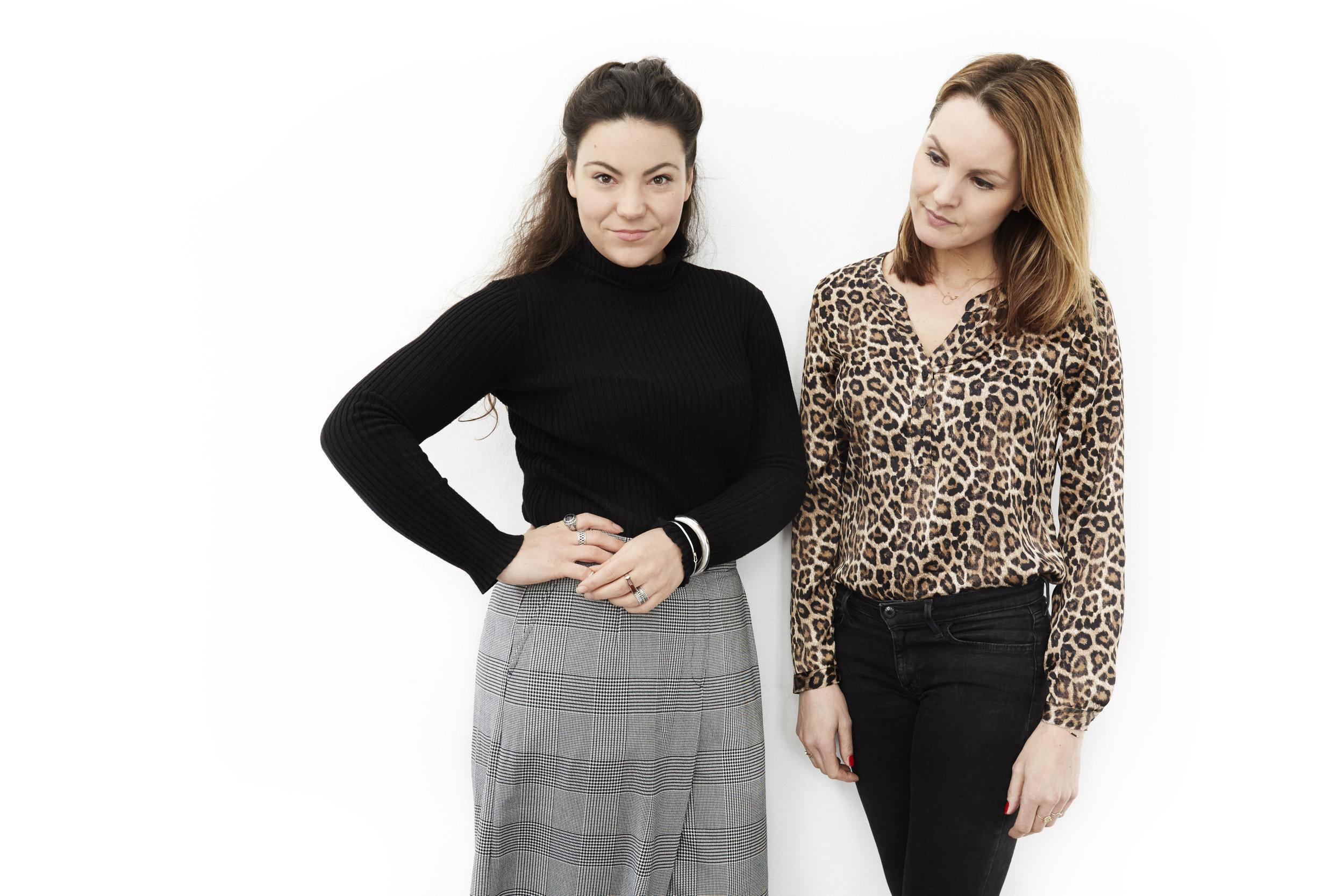 Left: Sophie de Groot. Right: Ymke Verbeek.