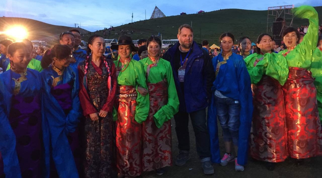 Which of these things is not like the others? Getting to take part in a traditional celebration in Gansu, Gannan, China. July 17, 2016