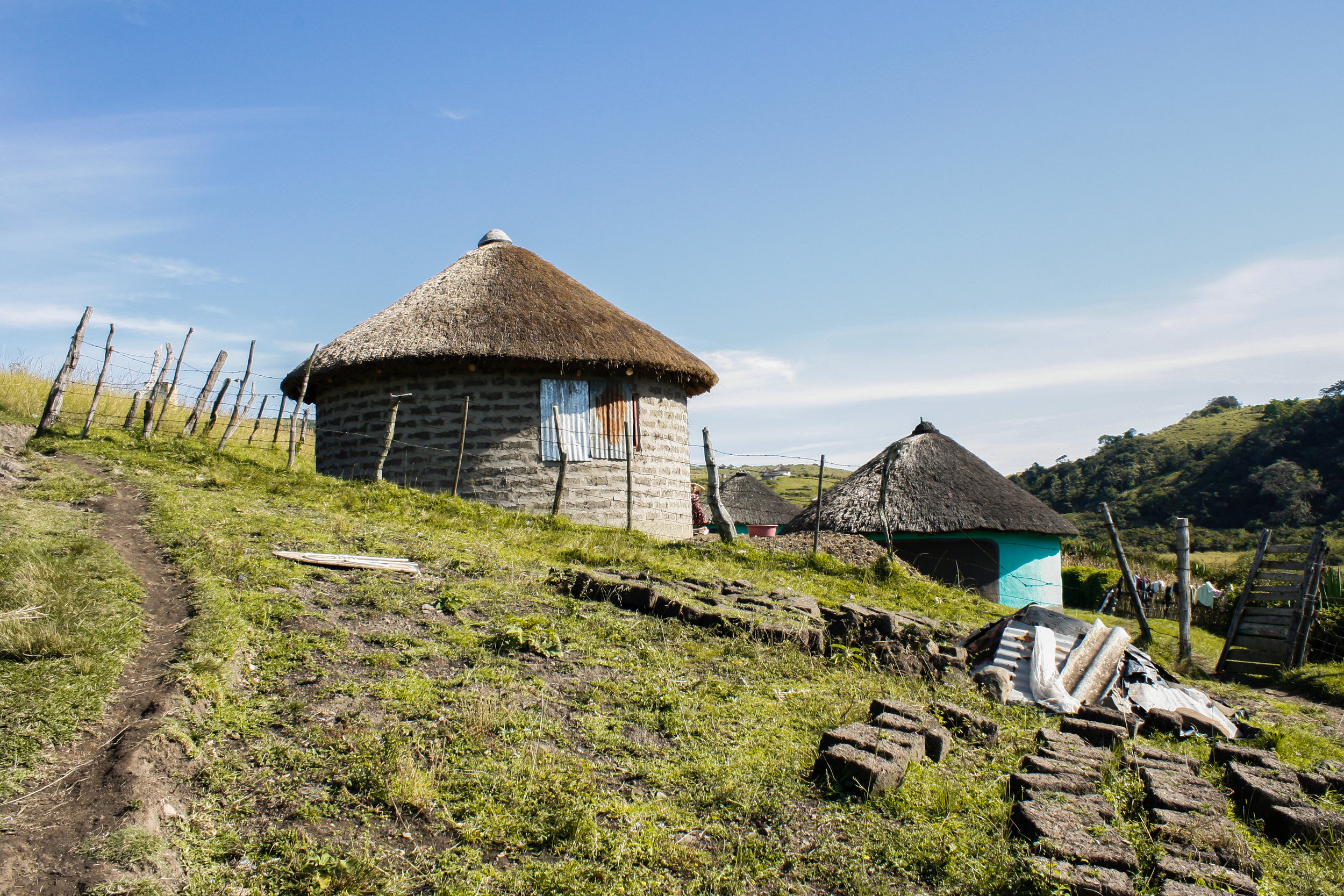 Xhosa Huts, Coffee Bay, Eastern Cape, 2015