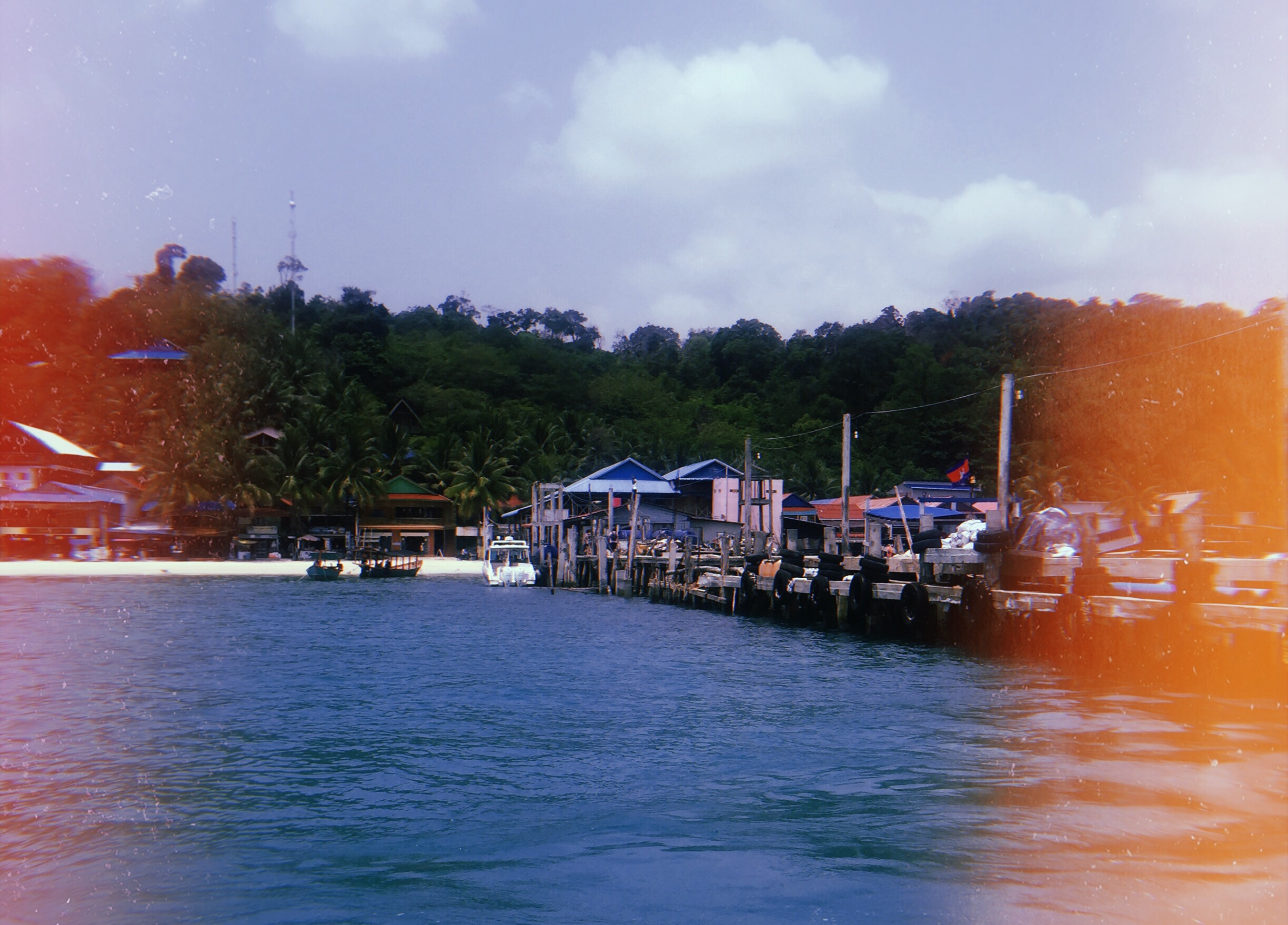 koh rong island pier