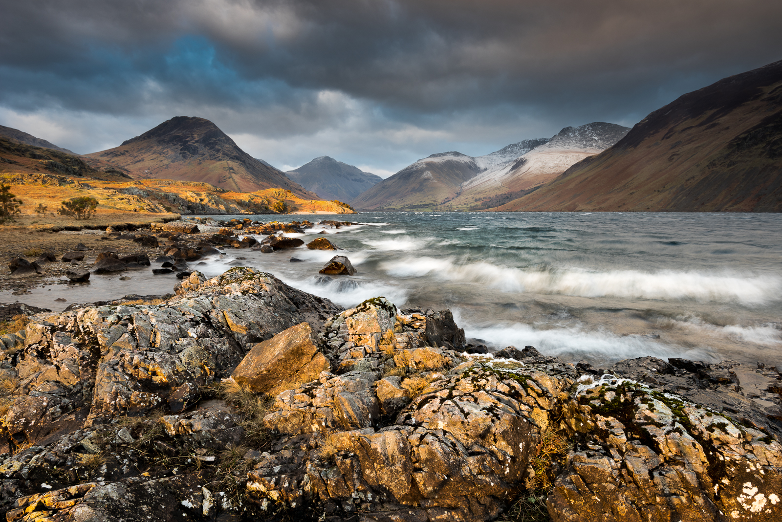 The classic view looking up  Wastwater