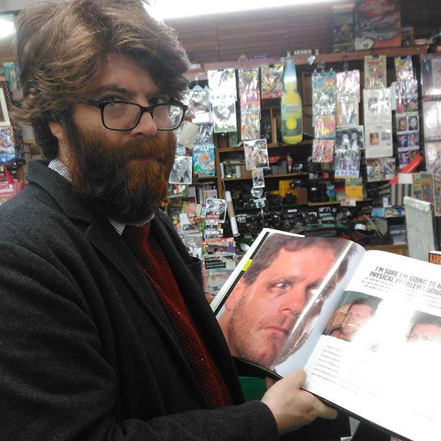 Wrestling books: Careful now #chrisbenoit