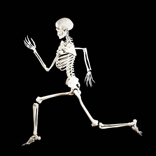Pictured: my skeleton escaping my body.