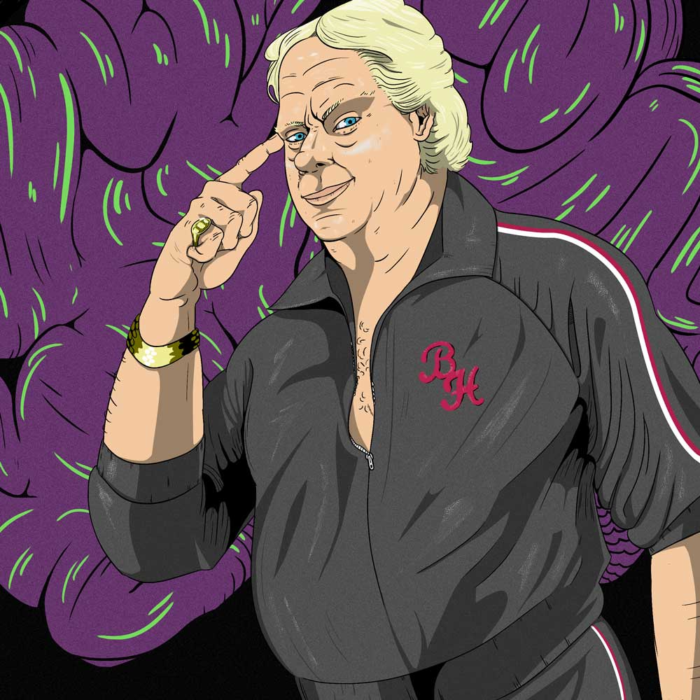 Bobby The Brain Heenan episode art How2Wrestling