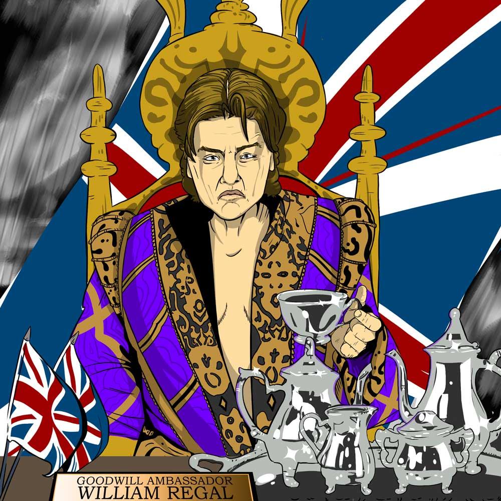 William Regal pro wrestler episode artwork How2Wrestling