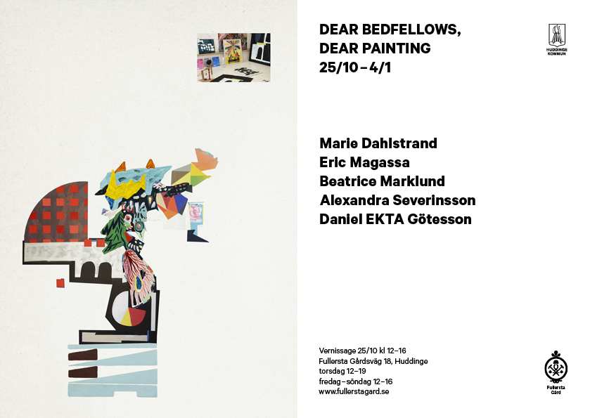 Dear Bedfellows, Dear Painting, Fullersta Gård 2014